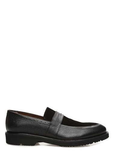 George Hogg George Hogg 7004261 Kahverengi Erkek Loafer Erkek Ayakkabı Siyah